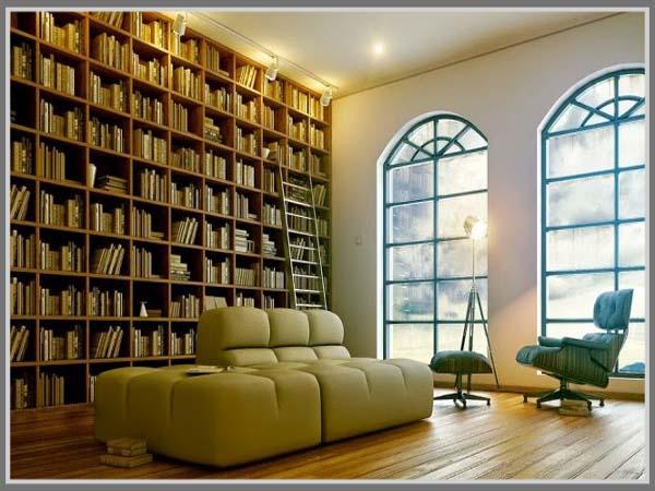 Pencahayaan Perpustakaan