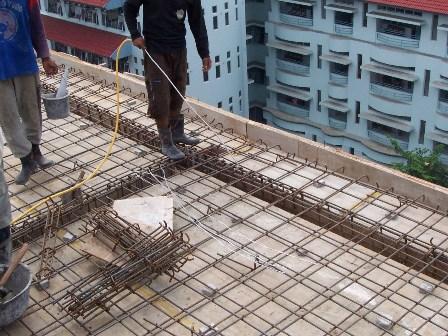 Pembangunan Dak Beton