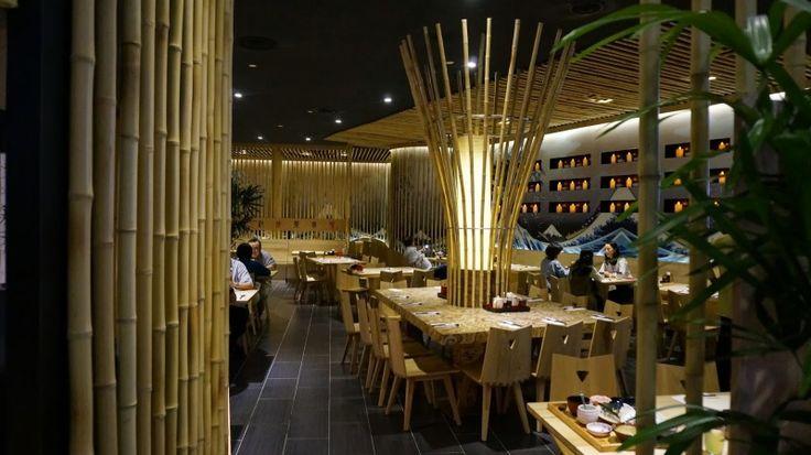 Cafe bambu ramah lingkungan